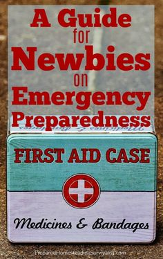A Guide for Newbies on Emergency Preparedness. Whether you need to be prepared for natural disasters or an SHTF situation, this guide is perfect for you | Prepared Homesteading Survivalist