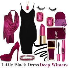 Little Black Dress by prettyyourworld on Polyvore featuring Casadei, Yves Saint Laurent, Trina Turk, Forever 21, Too Faced Cosmetics, Chantecaille, Suva Beauty, Velour Lashes and Tom Ford