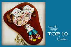 #COOKIE CONNECTION ALERT: Top 10 Cookies in this week's Saturday Spotlight. Cookie and photo pictured by Natasha Rusak.