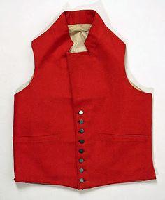 Red waistcoat