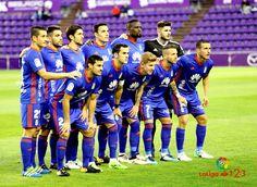 EQUIPOS DE FÚTBOL: REAL OVIEDO contra Real Valladolid 18/11/2017 Liga de 2ª División