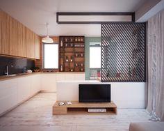 Two Tiny Apartment Under 40 Square Meters By Nikola Kungulovski