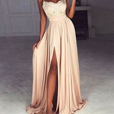 Spaghetti prom dresses,leg slit prom dress,sweetheart prom dresses,formal gown,unique prom dress,cheap prom dress,new prom dress,pd00395