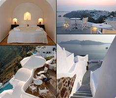 Greece would be another destination of mine...I wouldn't want to leave this place.