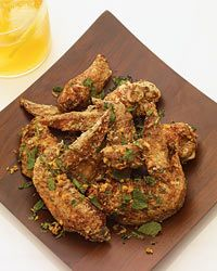 Chef-owner Andy Ricker, who takes annual trips to Southeast Asia, first tried fish sauce wings at a roadside stand in Saigon seven years ago. He scribbled down his guess at the ingredients on a paper napkin, which he carried with him until Pok Pok opened. Wine Recipes, Asian Recipes, Cooking Recipes, Ethnic Recipes, Asian Foods, Budget Recipes, Party Recipes, Cooking Ideas, Vietnamese Fish
