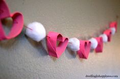 T.P. Roll Heart Garland :: Hometalk