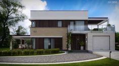 Z500 - Projekty domów i garaży, Domy jednorodzinne - Zx63
