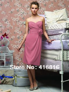 Fashion Choice Of High Quality Rose Pink Bridesmaid Dress-Buy Cheap Rose Pink ... 2017