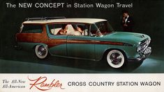 1956 Rambler Cross Country Hardtop Station Wagon