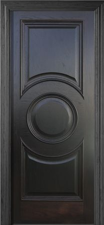 SWD - Solid Wooden Doors Model - N-311 - Royale - Circle Rosette Door