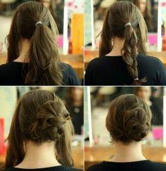 hair styles for medium hair updo hair styles