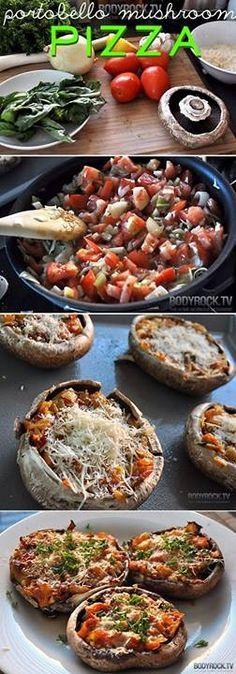 21 Day Fix Mushroom Pizza