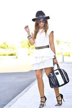 Glam nach Ma Petite b Primark, Front Row, Personal Style, White Dress, My Style, People, Outfits, Clothes, Shopping