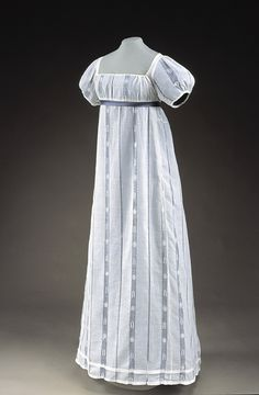 Dress ca. 1814 From Historic Deerfield Museum