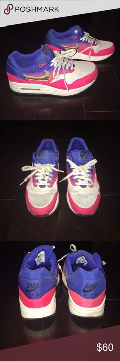 Nike Airmax special edition sneakers Nike Airmax sneakers. Special edition. Women's size 8. Good condition. Nike Shoes Sneakers