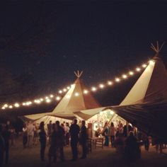 Austin's Indie House Events tepees
