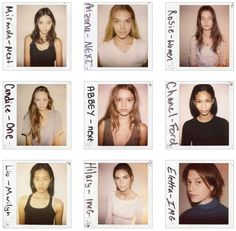 Casting director Douglas Perrett of COACD released his book, Wild Things, unveiling Polaroid pictures from 2000 to 2010 of future models at their first castings. Model Polaroids, Polaroid Film, Fashion Models, Fashion Show, Models Backstage, Picture Boards, Polaroid Pictures, Film Photography, Industrial Style