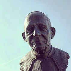 #lackoj #sculpture #head #fujifilmx100s #Ruzomberok #slovakia