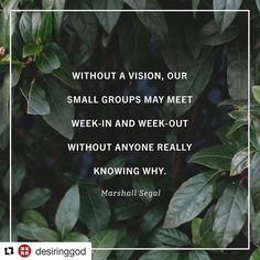 "#Repost @desiringgod with @repostapp  ""Your small group is destined to die a slow complacent even cordial death without direction. Good food and casual conversation might be staples of normal small group life but they cannot be the substance. Too many groups meet week after week month after month without any clear mandate and therefore without any clarity regarding whether or not theyre fulfilling their purpose or really accomplishing anything.  Chances are your small group isnt even called…"