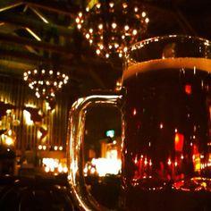 drink local beer DONKEL at Otaru ,Japan.