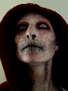 "my version of ""closet monster"" Makeup done by Rhonda Causton (Reel twisted FX)"