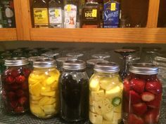 Infusing our Tequila: Blackberry, Cherry, Strawberry, Mango and Pineapple Jalapeño...