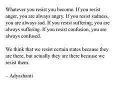 Resistance controls our Existence!