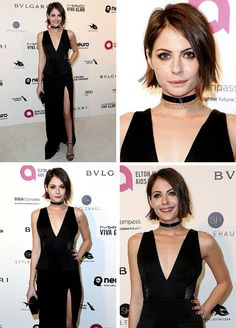 Willa Holland attends the 24th Annual Elton John AIDS Foundation's Oscar Viewing Party on (February 28, 2016) in West Hollywood, California.