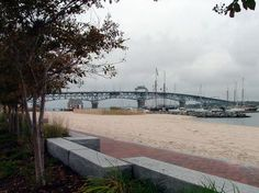Yorktown Beach & Coleman Bridge - Where I'll be