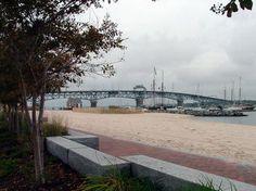 Yorktown Beach & Coleman Bridge - Where I'll be