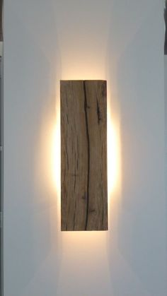 Wall lamp, Wood: Oak #WallLamp