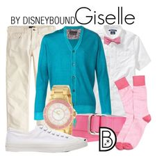 """""""Giselle"""" by leslieakay ❤ liked on Polyvore featuring Old Navy, J.Crew, Brooks Brothers, Sand, a_line, Jack Purcell, women's clothing, women, female and woman"""
