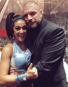 Bayley and Triple H True Love Stories, Love Story, Pamela Martinez, Wwe Pictures, Triple H, Women's Wrestling, King Of Kings, Wwe Wrestlers, Live Events