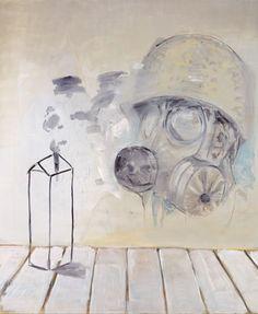 Denis Castellas Brain storm, 2009 200x240 cm Oil on canvas Courtesy Ceysson/DC