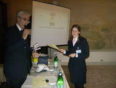 La consegna dell'attestato di partecipazione da parte del Presidente AIRA Veneto, Massimo Borriello e il Vice Presidente AIRA Nord, nonché fondatore del Concorso Gran Premio AIRA Veneto, Sandro Bravin @ IV° GPAV - Hotel Ruzzini Palace Venezia.