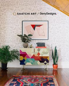 WIN!! $1,000 towards your choice of original and limited edition artwork from Saatchi Art plus a consultation with an expert curator $500 towards artist-designed home accessories and bedding from Deny Designs Plus, an extra $1,000 gift card presented by Hunker to complete your home refresh