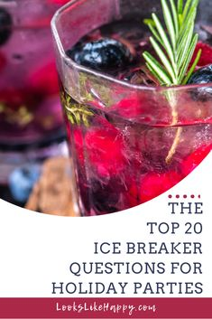 The Top 20 Ice Break