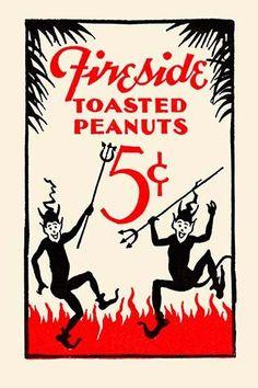 Fireside Toasted Peanuts 5¢