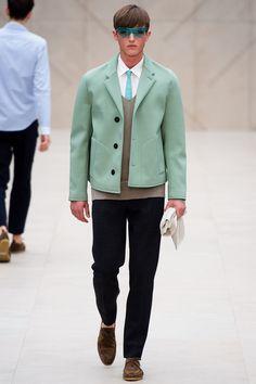 Burberry Prorsum   Spring 2014 Menswear Collection   Style.com