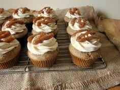 Apple & Salted Caramel #Cupcakes