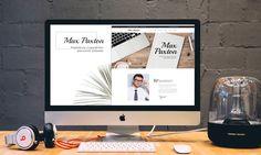 Darmowy motyw WordPress MaxPaxton Lite dla portfolio copywritera