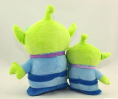 Aliexpress.com : Buy 20cm Plush Toys 3 eyes Toy Story ALLEN Green Aliens Squeeze Toy Alien Stuffed doll Cartoon & Anime 1 piece from Reliable toy story buzz lightyear doll suppliers on Dreamweav Store