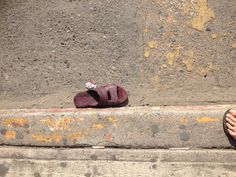 Found this sandal in Zihuatanejo, Mexico
