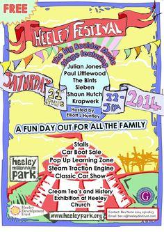 Heeley Festival 2014 poster