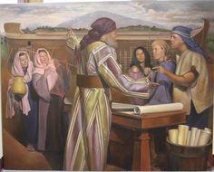 Noah Building The Ark, Symbols, Fine Art, Painting, Icons, Painting Art, Paintings, Paint, Draw