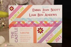 Emma Jean Whimsical Wedding Invitations, Forever Yours, Getting Married, Reception, Frame, Fun, Picture Frame, Receptions, Frames