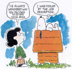 Lucy and Snoopy - fooled by a dog's job description Snoopy Love, Peanuts Cartoon, Peanuts Gang, Job Description, Product Description, Hr Humor, Snoopy Comics, Snoopy Quotes, Peanuts Quotes