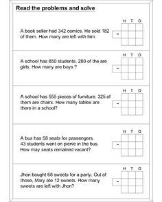 47 best subtraction images subtraction worksheets math. Black Bedroom Furniture Sets. Home Design Ideas
