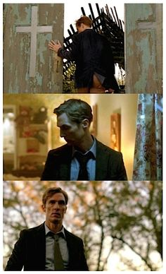 """Rust Cohle in """"True Detective""""."""