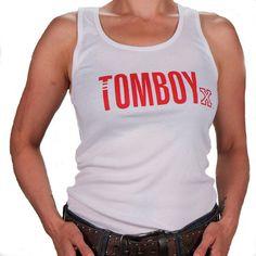 TomboyX tank top - White   2014 TomboyX – Women's clothing, menswear inspired